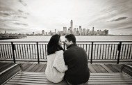 Lauren and Steve – Engagement Photo Shoot Highlights from Jersey City, NJ