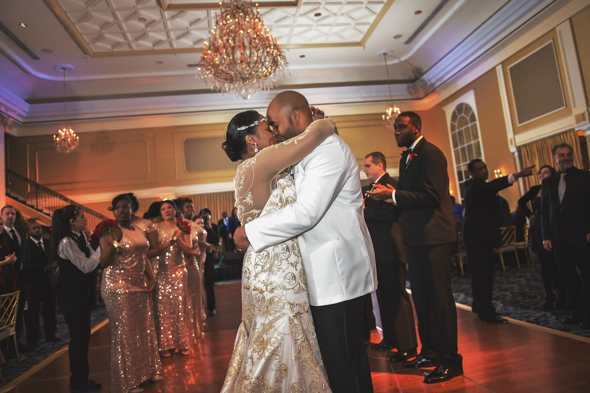 Courtney And Rashad Wedding Photo Highlights From The Palace At