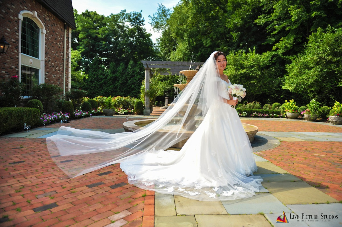Emily And Edmond Wedding Photo Highlights From The Estate At Florentine Gardens In River Vale Nj