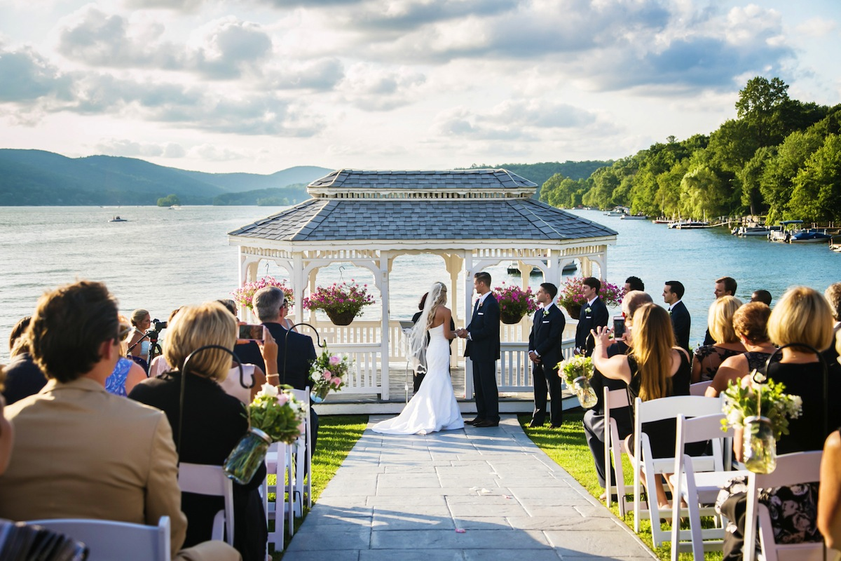 Alicia and brandon wedding photo highlights from the candlewood waterfront wedding ceremony connecticut junglespirit Image collections