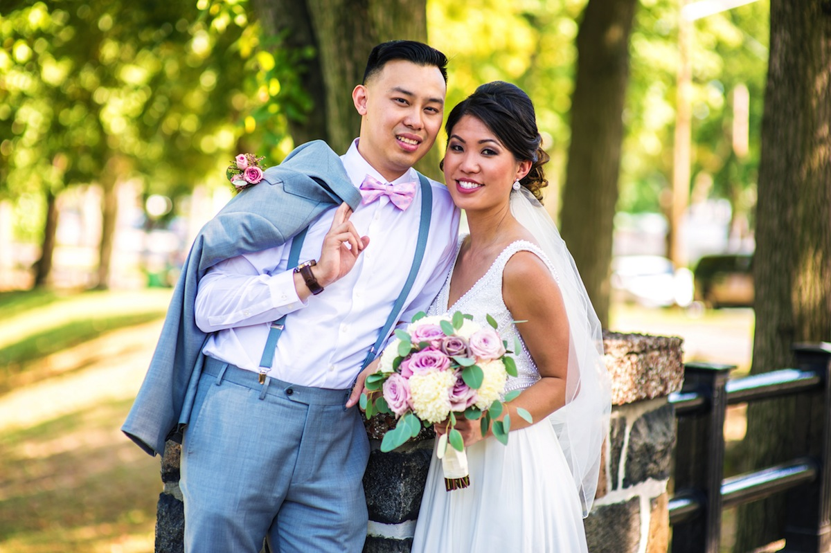 Dora and David – Wedding Photo Highlights from Waterside Restaurant & Catering in North Bergen, NJ