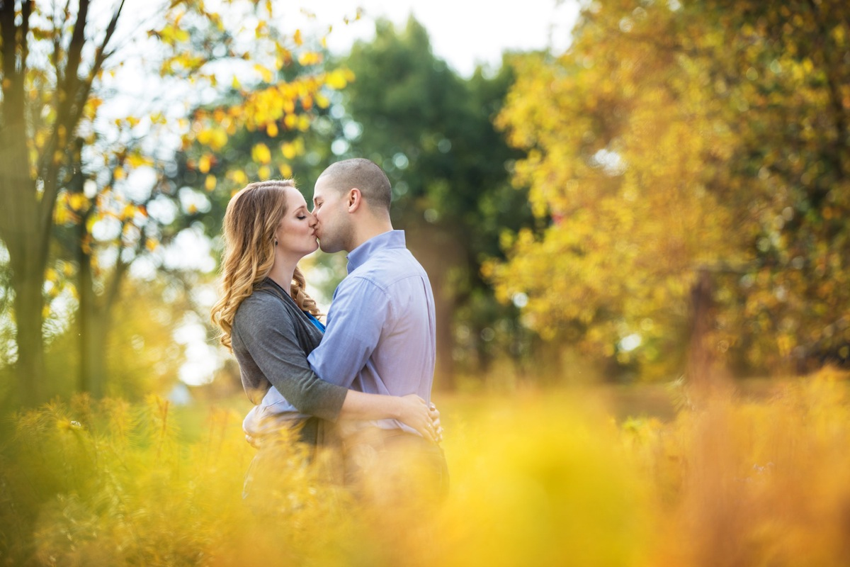 alexis-and-anthony-kissing-in-grass-in-park-nj-photography