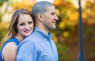 Alexis and Anthony – Engagement Photo Highlights from Branch Brook Park in Newark, NJ