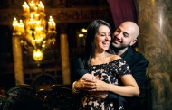 Melissa and Sevag – Engagement Photo Highlights from Loews Theatre in Jersey City, NJ