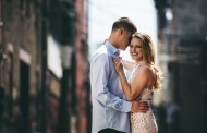 Michelle and Anthony – Engagement Photo Highlights from Hoboken, NJ