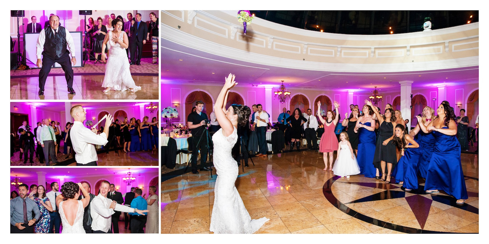 colleen-and-tommy-dance-floor-fun-album-page-in-nj-wedding-photography