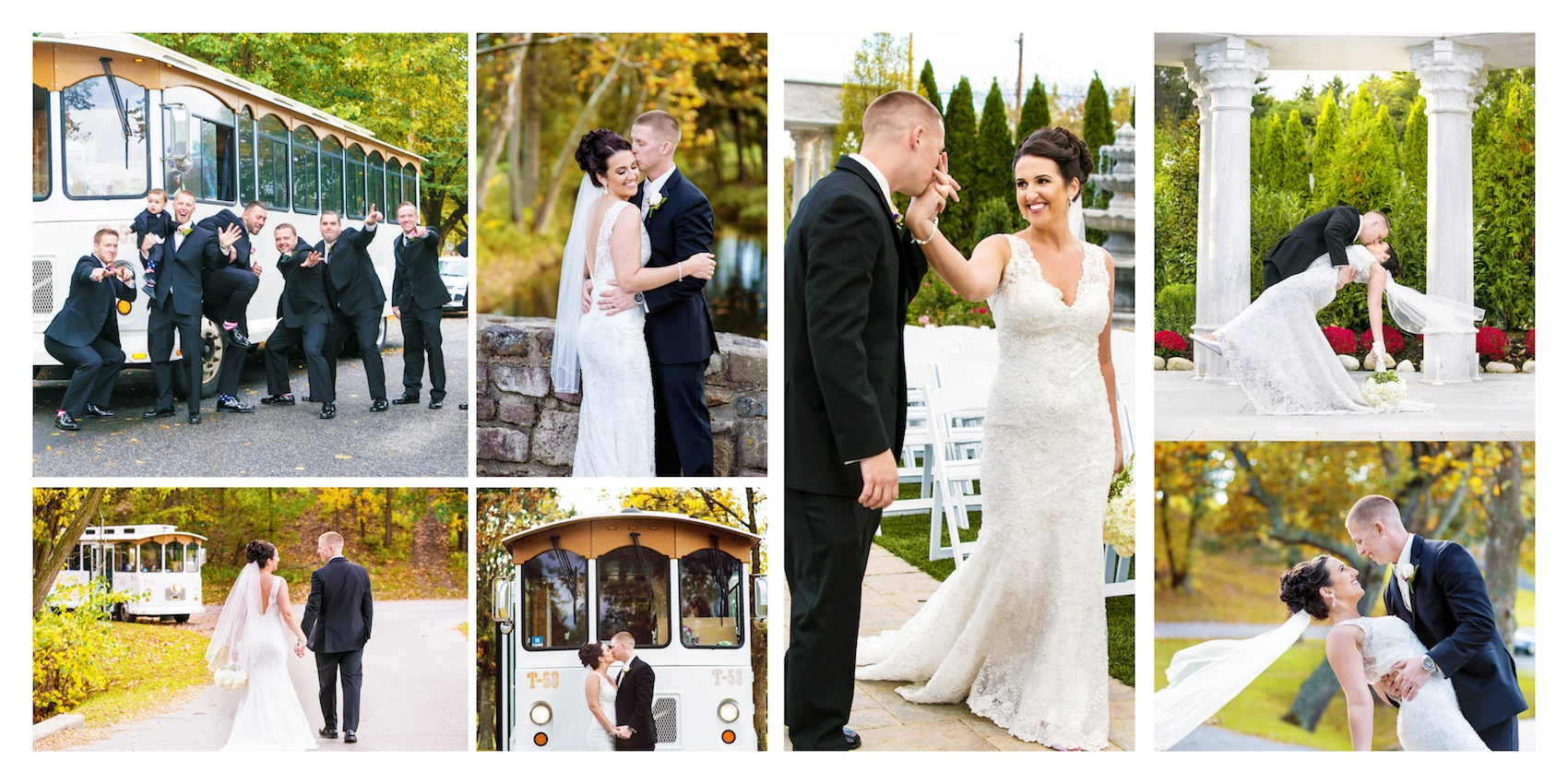 colleen-and-tommy-photo-session-album-page-from-nj-wedding-photography