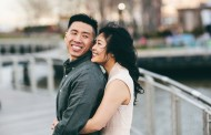 Jennifer and Sean – Engagement Photo Highlights from Hoboken, NJ