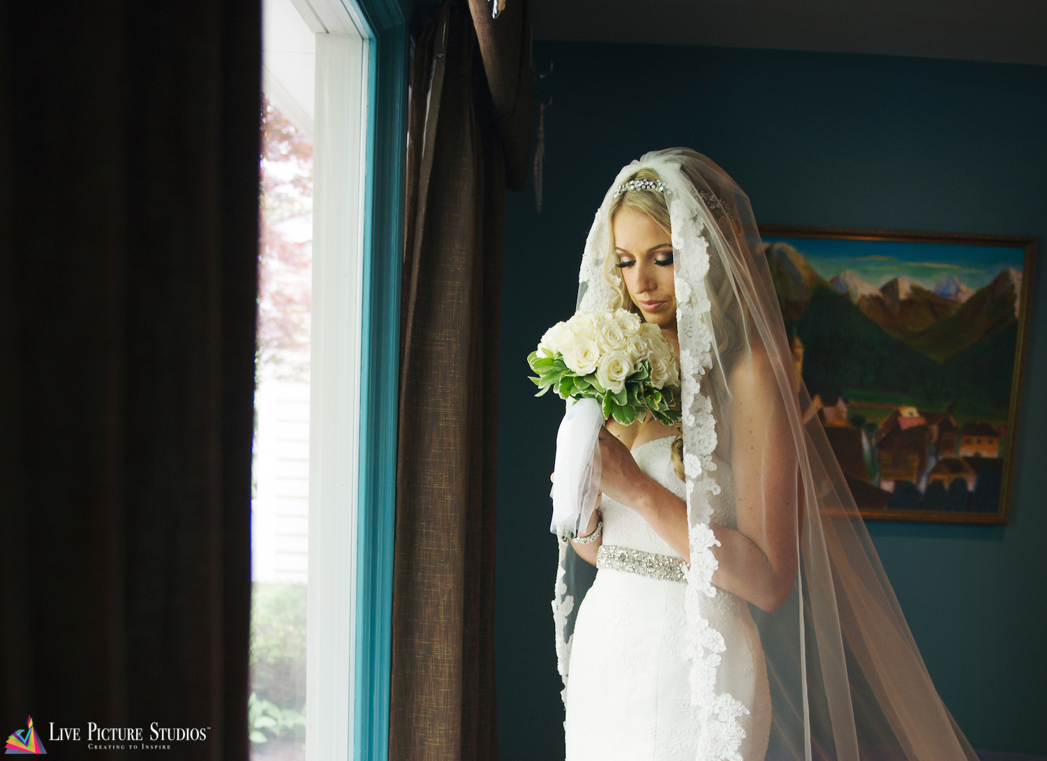 4 Tips for Beautiful Bridal Portraits from Our Vets of Wedding Photography in NJ