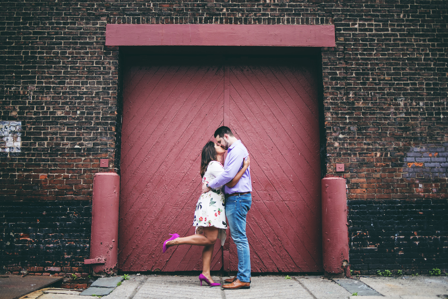 stephanie-&-charles-embracing-by-red-door-engagement-photography-nj