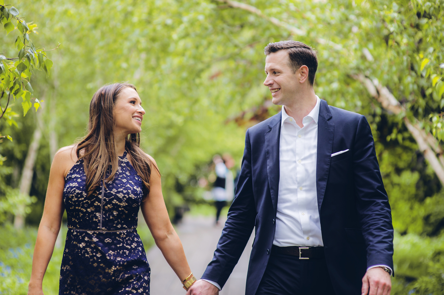 kayla&mike-walking-holding-hands-in-park-nyc-engagement-photos