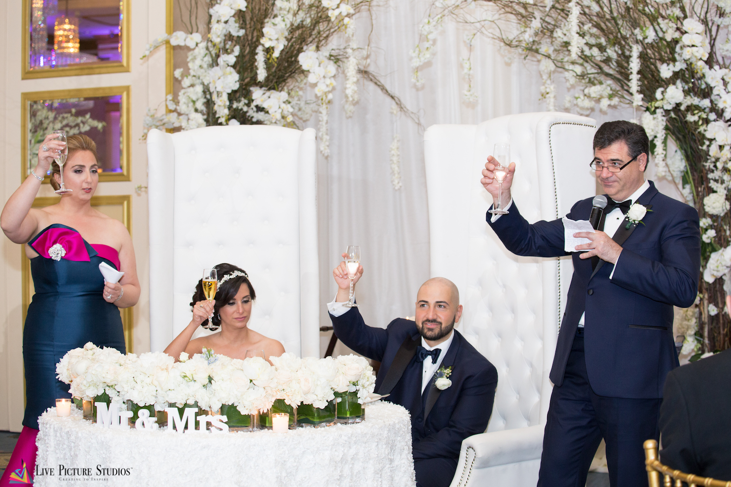 NJ Wedding Videographers Share Their Top 3 Speech Tips