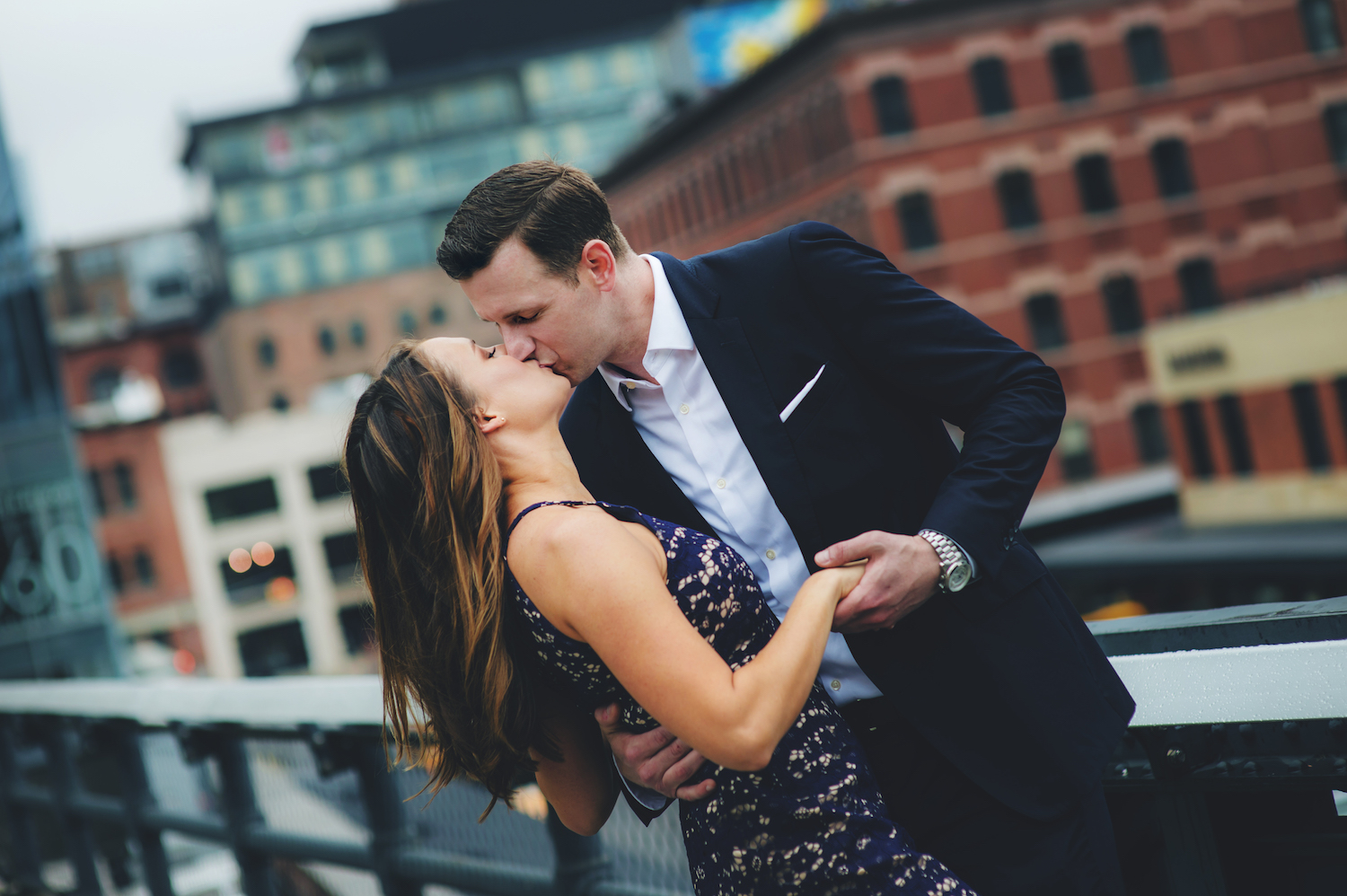 Kayla and Mike – Engagement Photo Highlights from the High Line in New York, NY – Part 2