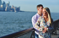 Ashley and Corey – Engagement Photo Highlights from Hoboken, NJ