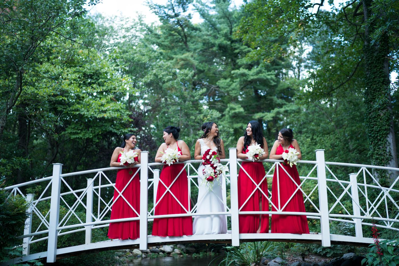 stephani-bridesmaids-on-bridge-wedding-photography-nj