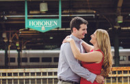 Lauren & Andrew – Engagement Photo Highlights from Hoboken, NJ