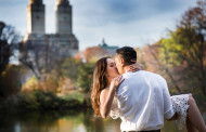 Cristine and Mike – Engagement Photo Highlights from Central Park, NY