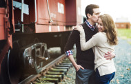 Diana and Dave – Engagement Photo Highlights from Liberty State Park in Jersey City, NJ