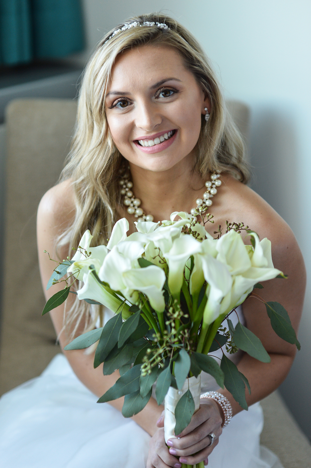 annie-in-dress-holding-bouquet-bride-prep-wedding-photography-nj