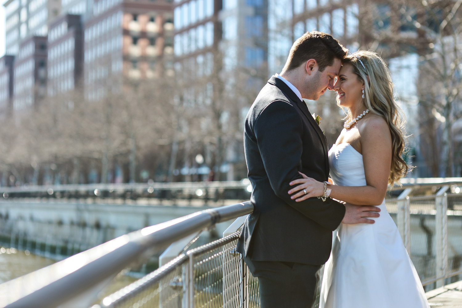 annie&adam-embracing-by-water-wedding-photography-nj