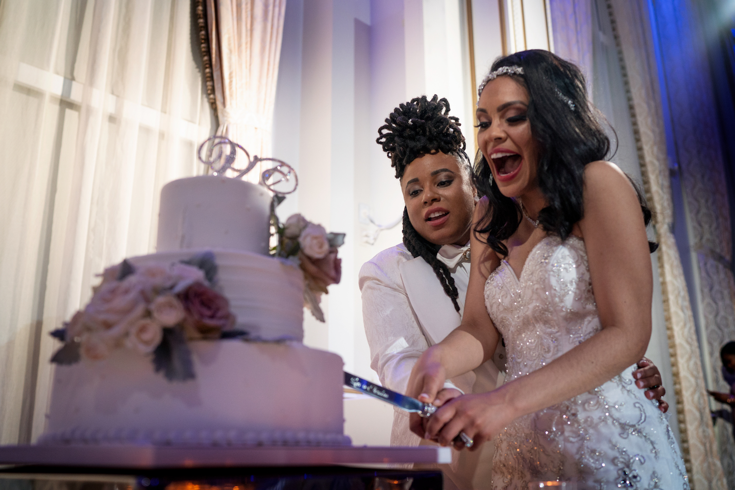 ciara&liana-cake-cutting-nj-wedding-photographers
