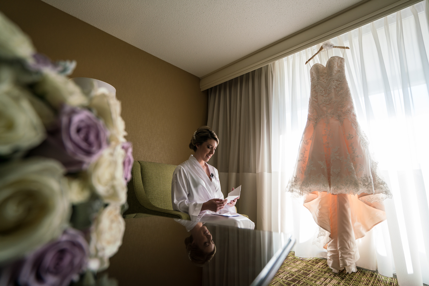 kelly-card-reading-bride-prep-dress-flowers-nj-wedding-photographers