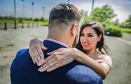 Monica and Justin – Engagement Photo Highlights from Liberty State Park in Jersey City, NJ