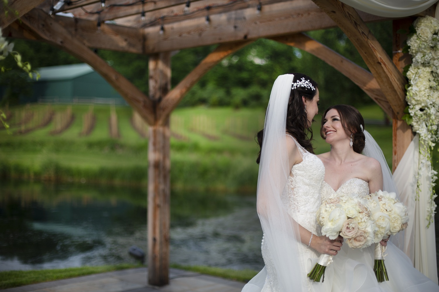 Cailin and Graciela – Wedding Photo Highlights from Bear Brook Valley in Fredon Township, NJ