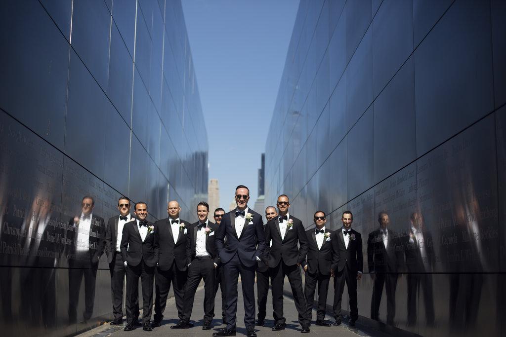 nj-wedding-photographers-xiaoyi&anthony-groomsmen-911-memorial-park-photos